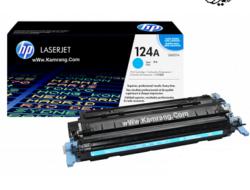 خرید کارتریج لیزری رنگی آبی hp 124a